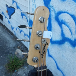 Subway fretless 4 string USA Fender body P-Alembic pickup with Bartolini preamp $700