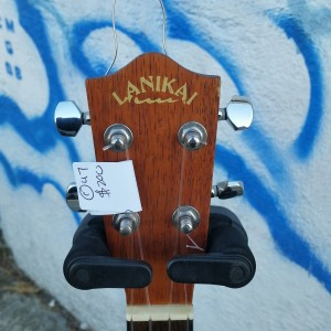 Lanikai Tenor electric ukulele with cutaway $200