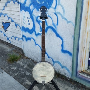 Johnson open back 5 string banjo $200