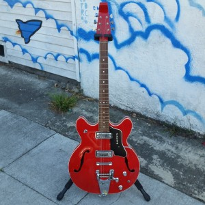 60's Baldwin Vibro slim english burns llike ES-335 $ 1100