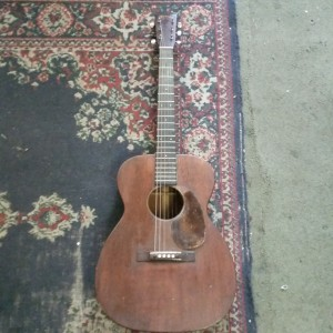 30's Martin 00-17 needs pick guard