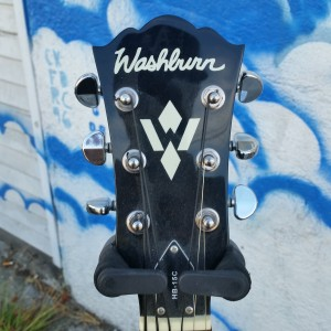 Washburn HB15C like Gibson L4C acoustic with floating pickup $400