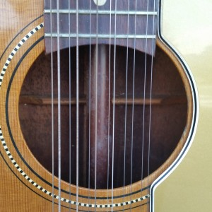 1966 Fender Villager 12 Sting low action $750