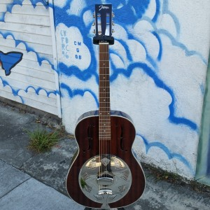 Resonate your self with this 12 fret slot head resonator $300