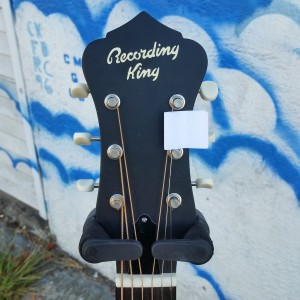 Small Recording King resonator 12 fret $240