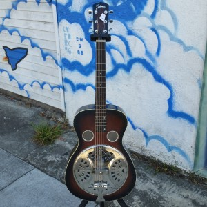 "Swinging Johnson resonator ""Dobro Cone"" $225"