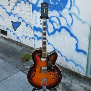 1964 Guild X-175 big L-5 style Jazz guitar $2600