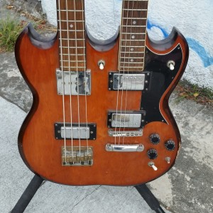 Old double neck could be made to 6 string + Baritone $350
